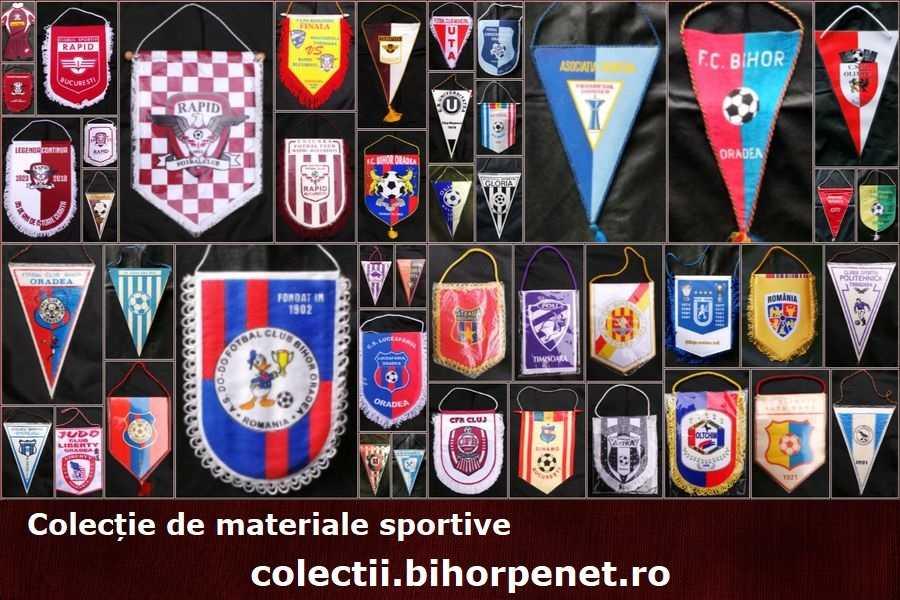 Colectie materiale sportive