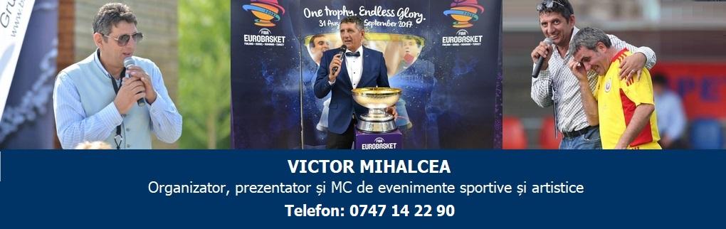 Organizator, prezentator si MC de evenimente sportive si artistice